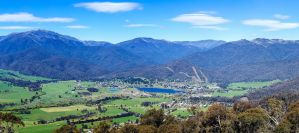 Mount Beauty Panorama by MarkLucey