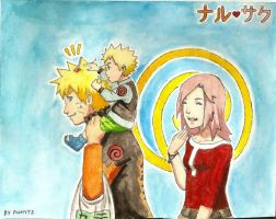 Uzumaki family shopping by PumyteH