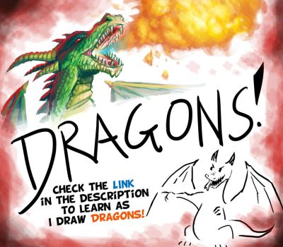 Mini Series: Drawing Dragons! by Pen-Mark