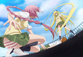 To Love-Ru Darkness! by carl1tos