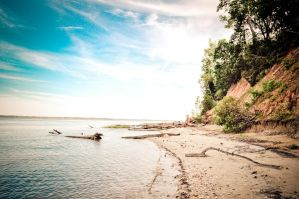 Fossil Beach by twinphotography