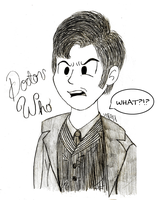 Doctor Who (David Tennant) by SarahStudios11