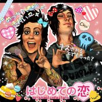 Kawaii! (purikura version) by shaolinfeilong