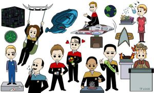 The Voyager Gang by ladylunacs