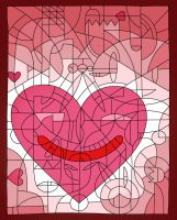 The SMILE OF VALENTINE by Garhoul