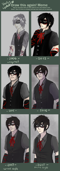 Draw this Again (yearly update) 2017 by Dinloss