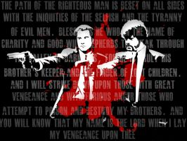 Pulp Fiction Wallpaper by FighterOfFoos