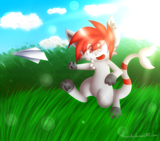 Paper plane .:Gift:. by Sweirde
