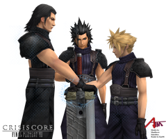 Crisis Core - FFVII - The story continues... by kart96