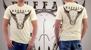 Buffalo T-Shirt by MattVTwelve