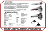 Viper MK II Blueprints Page One by viperaviator