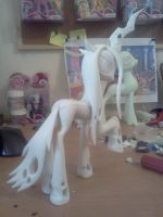 Queen Chrysalis pose 2 WIP by Groovebird