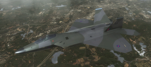 F-22A - Royal Air Force by Jetfreak-7