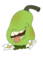 I eat pears by Gr8gecko