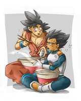 Dragon Ball Super - Cup Ramen by RedViolett