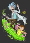 Rick and Morty by Cannibal-Cartoonist