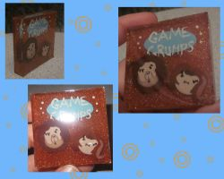Game Grumps Resin Tile by noonetells