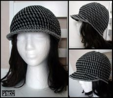 ::Checkered Hat:: by Petra0