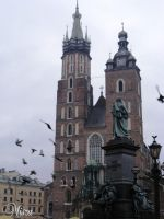 St. Mary's Basilica Krakow by Quenta-Silmarillion