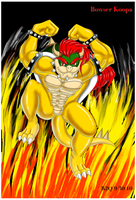 Bowser's Flames of Fury by Bowser2Queen