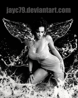 Wet angel by JayC79