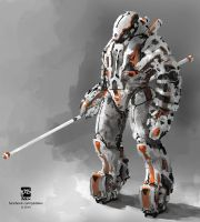 20140917 Mech by psdeluxe