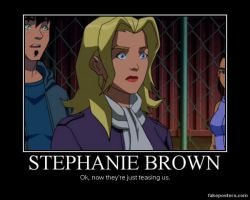 Stephanie Brown by browniesarethebest
