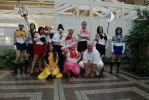 Sailor Moon Cosplay Group by DragonLadyCels