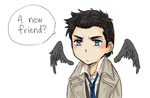 CAS HAS A NEW FREUND by Sadyna