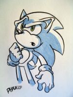 Sonic Doodle - Sketch style by KaiThePhaux