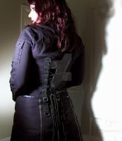 """DIY Gothic Black Corset Jacket"" 1 by CheyenneLeHale"