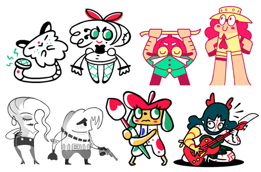 Character Design by FlashBros