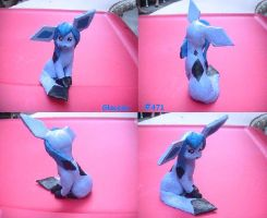 Glaceon Clay by Zensoukyoku