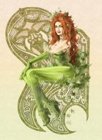 poison ivy color by LadySamaine