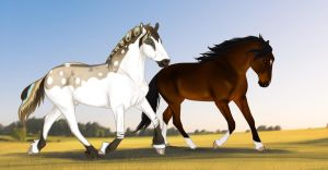 YHH - Take a Trot with Me - SOLD by s1088