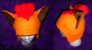 Vulpix Hat by SmileAndLead