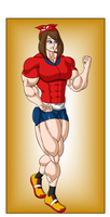 Commission - May Muscle Growth (3/6) by FudgeX02