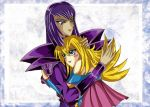 Dark Magician x Dark M. Girl by SetsunaKou