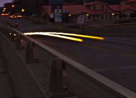 Windy night on Daly Overpass by sokolovic1987