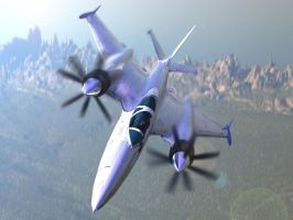 Concept Twin Turboprop by shelbs2