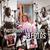 Photopack Martina Stoessel #2 by TiniDesigns