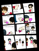 Team 8 and their Valentines by Freakin-WhatTheHeck