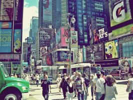 Times Square by Suriih