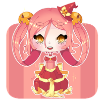Pumpqueen chibi by BubblyBlu