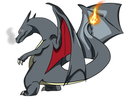 Shiny Charizard by GrimmArtworks