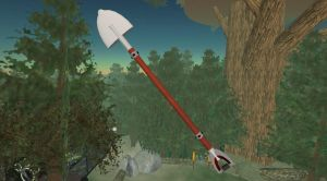 Ruby-Studded Spade of Whacking by Sepha