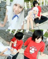 AnoHana: Menma and Jintan by ryouism