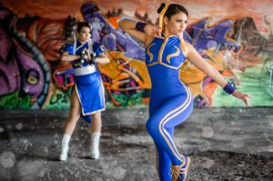 Chun Li Street Fighter X2 1 Photo By. RogerRamirez by harleykmc