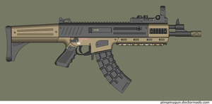 Arker assault rifle by Robbe25