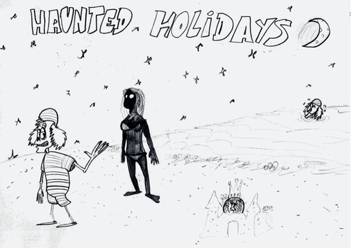 Haunted Holidays by ScroogeMacDuck